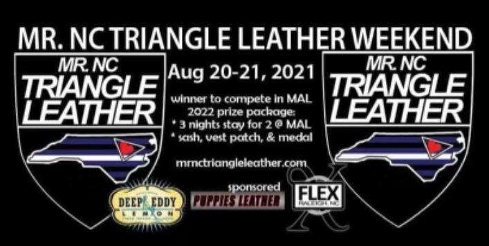Mr. NC Triangle Leather Contest